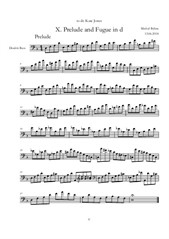 Prelude and Fugue No.10 d-moll